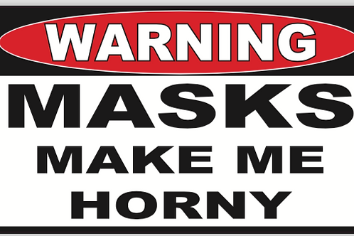 Horny Mask Decal