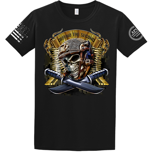 Defend the 2nd Skull Tee
