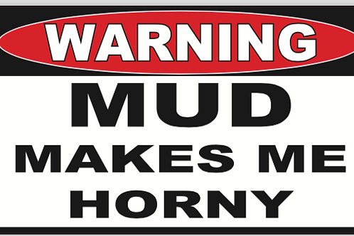 Horny Mud Decal
