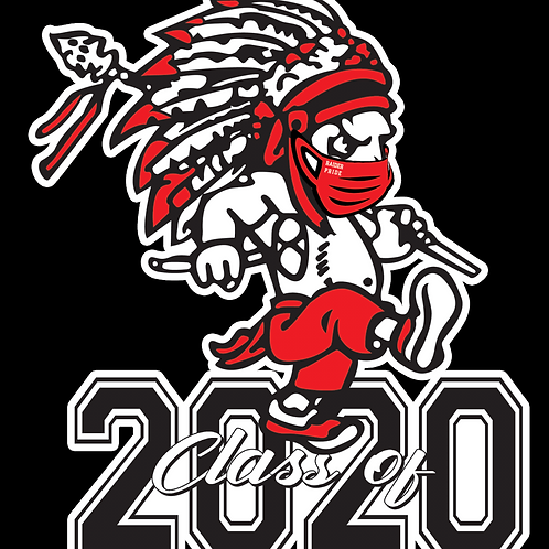 Red Raider 2020 Decal