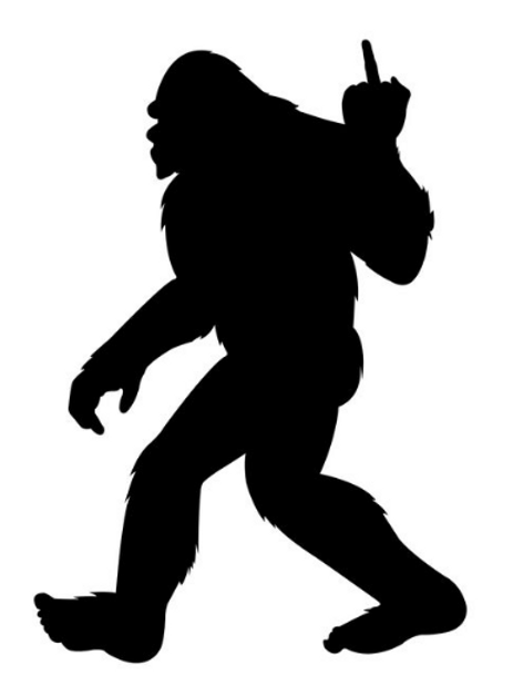 BIGFOOT Decal 5""