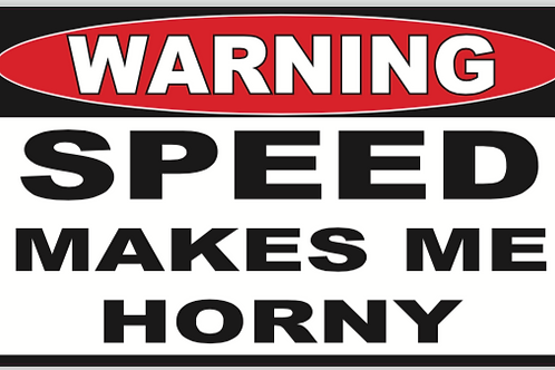 Horny Speed Decal