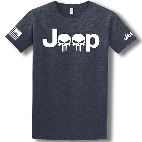 Punisher Jeep Logo Tee
