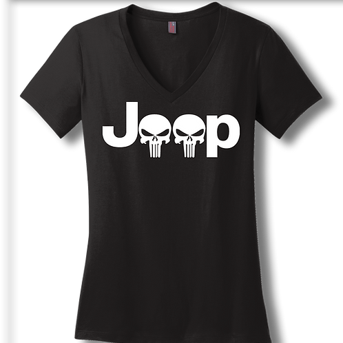 Punisher Jeep V-Neck