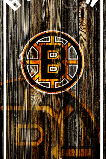 Bruins Wood Grain 03