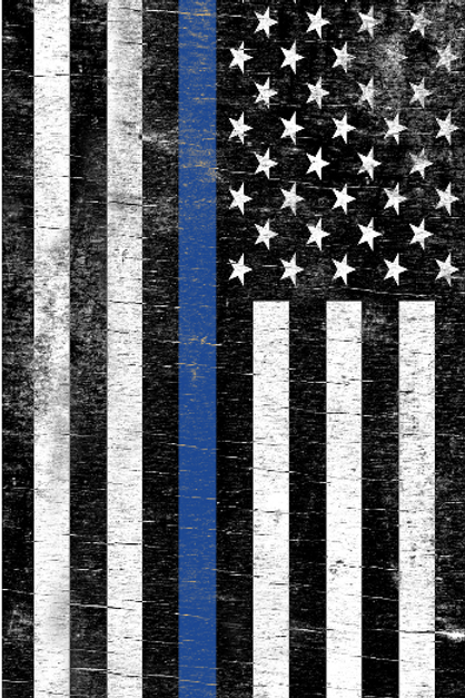 Blue Stripe Flag