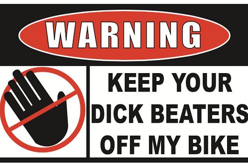 Dick Beaters off Bike