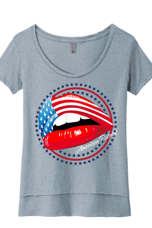 American Patriot Lips Scoop