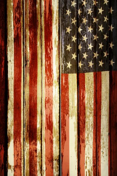 Vintage American Flag 01
