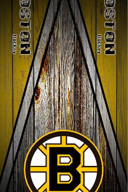 Bruins Wood Grain 01