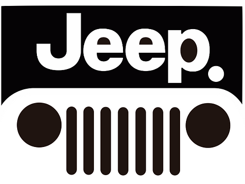 Jeep Front Grill Logo