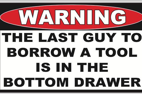 Tool Borrower in Drawer