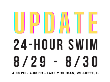 UPDATE! 24-HOUR SWIM DATE CHANGE TO 8/29- 8/30