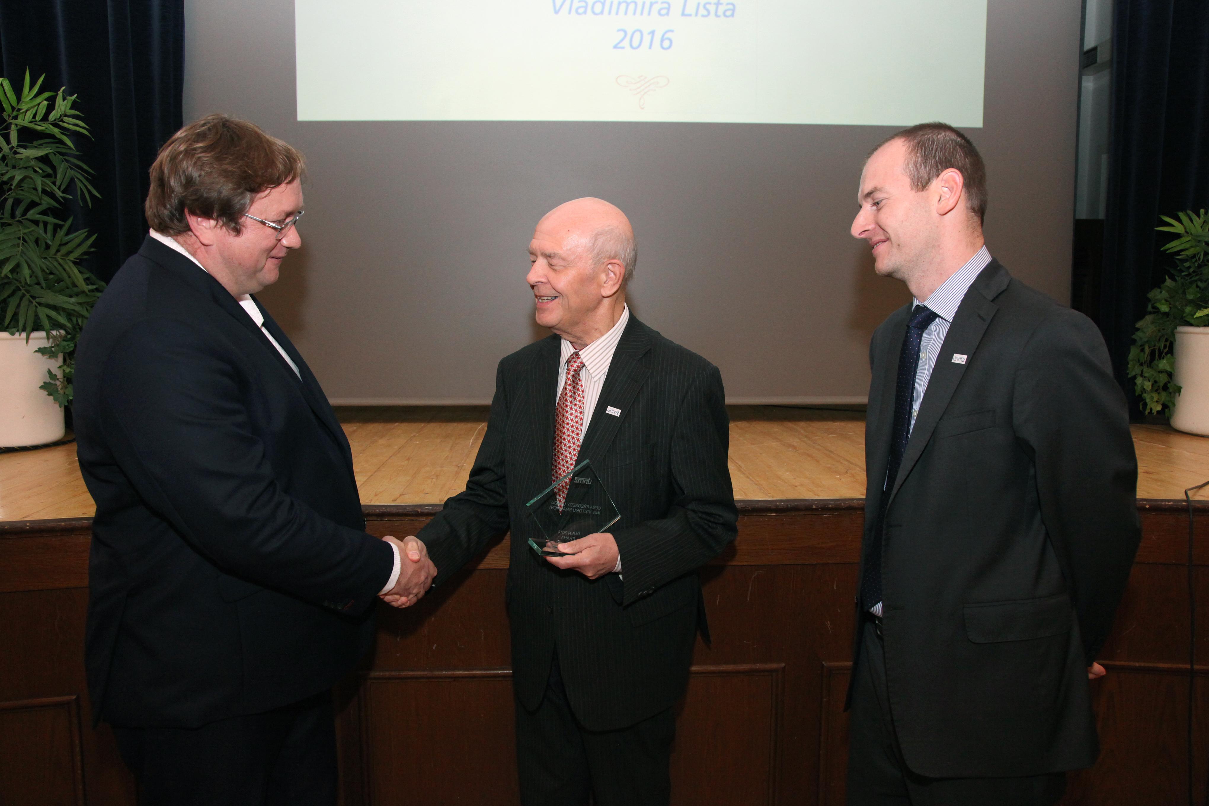 Cena předsedy úřadu UNMZ 2016