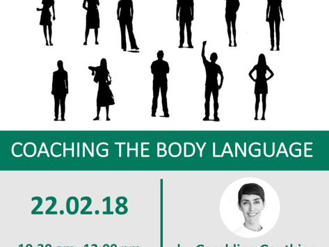 Event at ICF: Coaching the Body Language