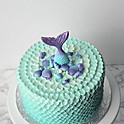 Mermaid Tail Topper and Sea Shell Accents