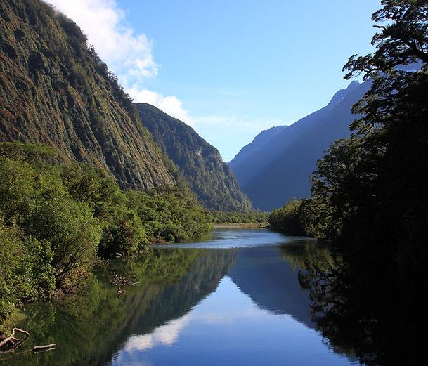 vallée de la rivière