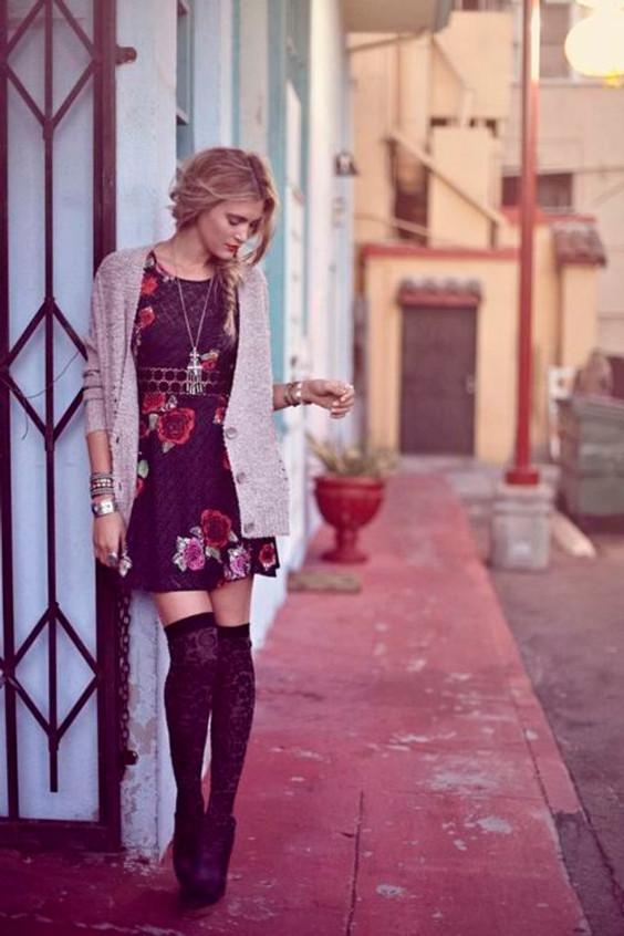 Cintia Cortez_vestido foral no inverno 9