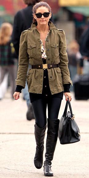 Cintia Cortez_look militar musgo