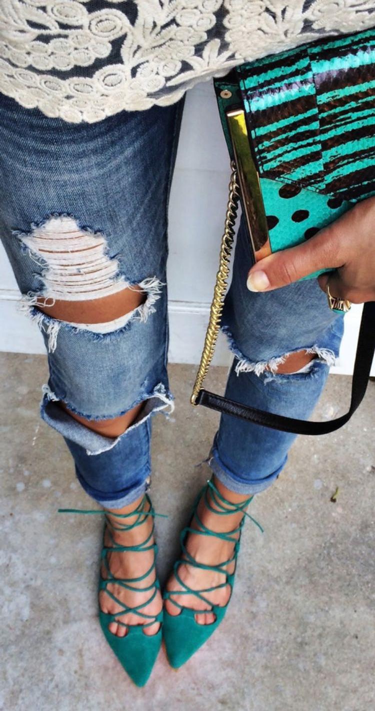 Cintia Cortez_lace up flats 6