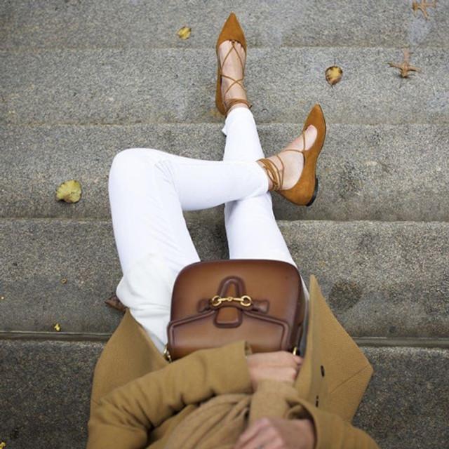 Cintia Cortez_lace up flats 1