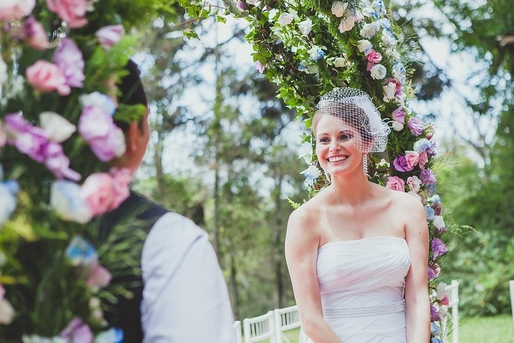 Cintia Cortez_ arco de flores