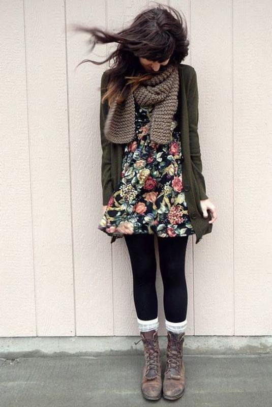 Cintia Cortez_vestido foral no inverno 6