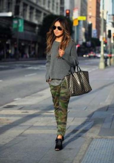 Cintia Cortez_calça militar