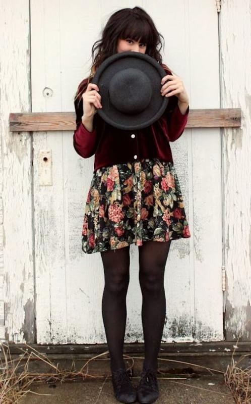 Cintia Cortez_vestido foral no inverno 8