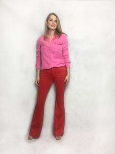 Look para o trabalho _ calça colorida _ Cintia Cortez