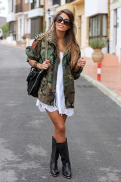 Cintia Cortez_ jaqueta militar