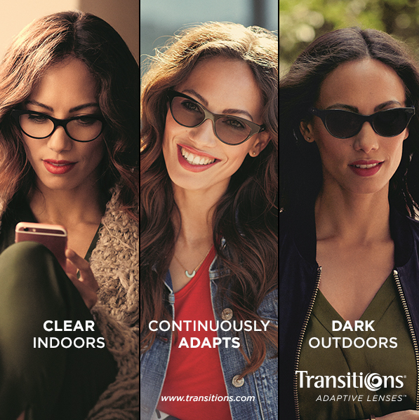 Transitions Lenses. The Summer Lens