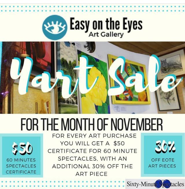 Easy on the Eyes Yart Sale!