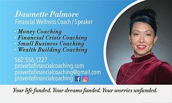 Proverbs Financial Coaching Business Car