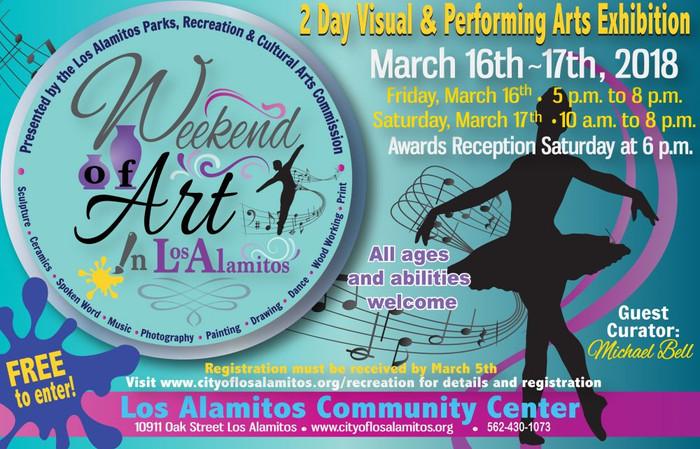 Weekend of Art in Los Alamitos!