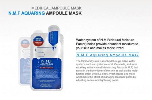 Korea Mediheal N M F Aquaring Ampoule Mask