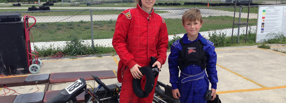 Family Karting with my Sister