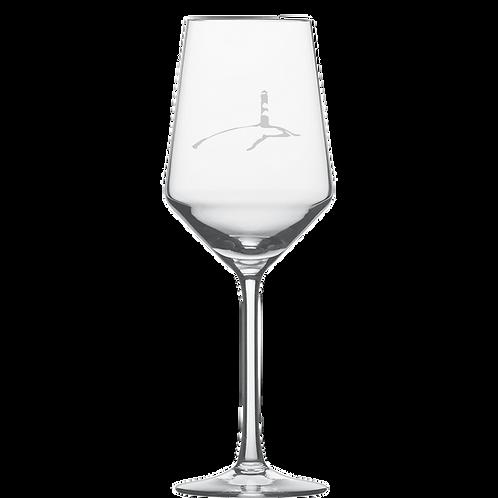 Weißweinglas Leuchtturm 6 Stück