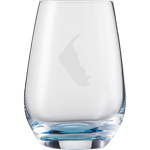 Wasserglas Blau Amrum