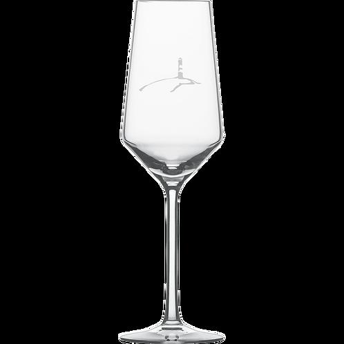 Champagnerglas Leuchtturm 6 Stück