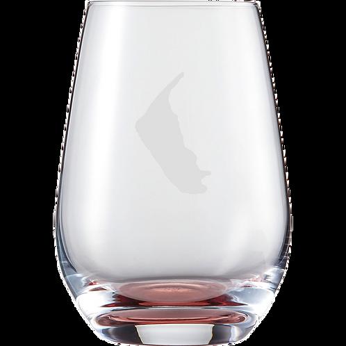 Wasserglas Rot Amrum