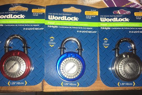 Word lock locks