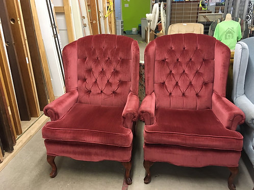 Tall  back chairs