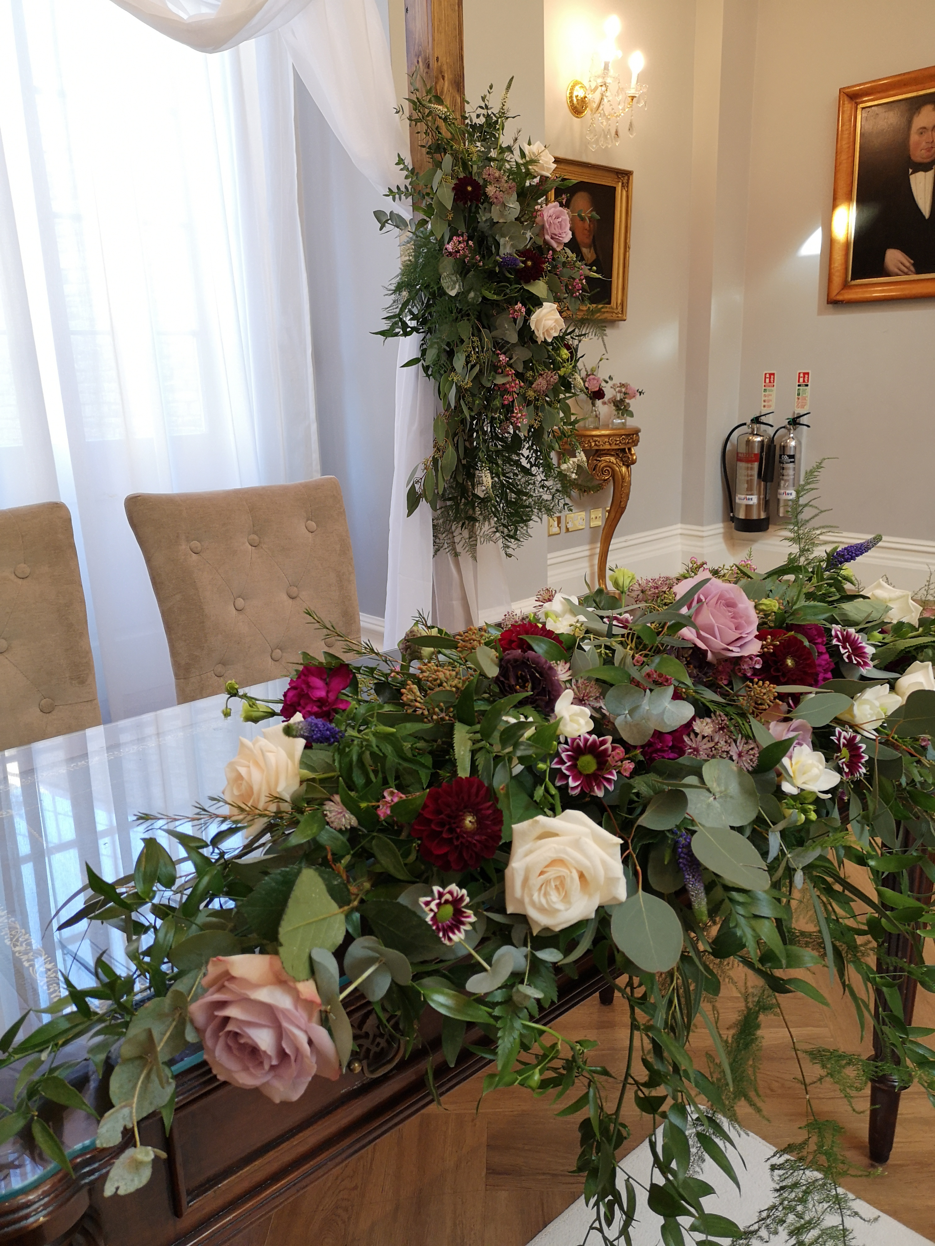 ceremony decoration ceremony table flowe