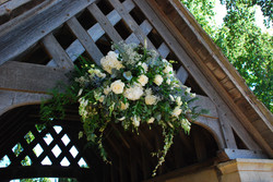 Church Gate Flowers With Love and Roses.