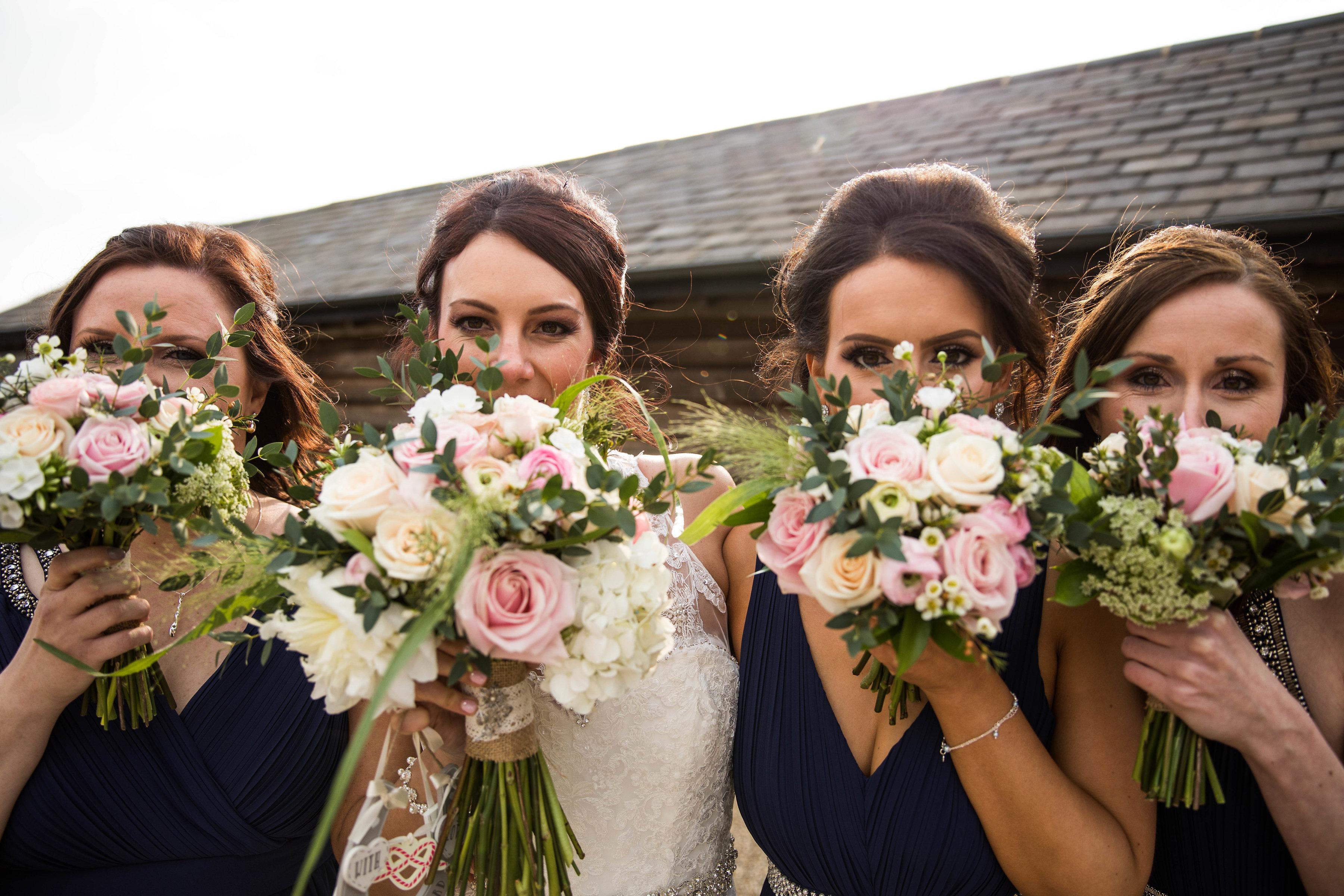 bridesmaid bouquets spring wedding dodfo