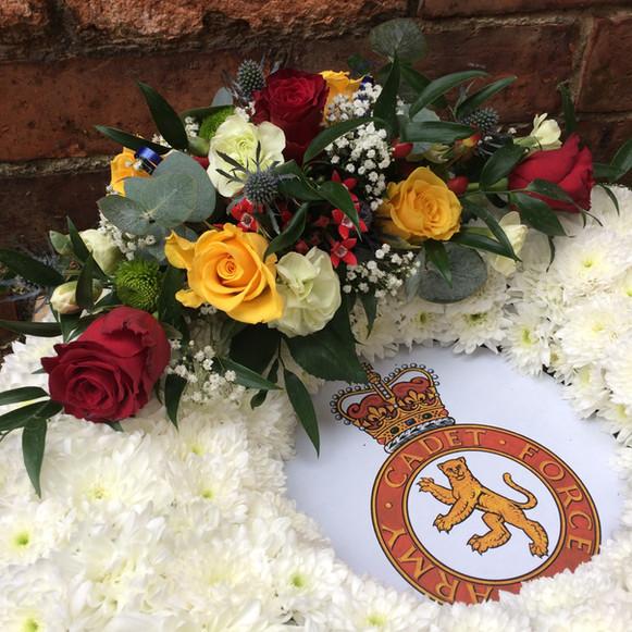 Funeral Tribute - detail