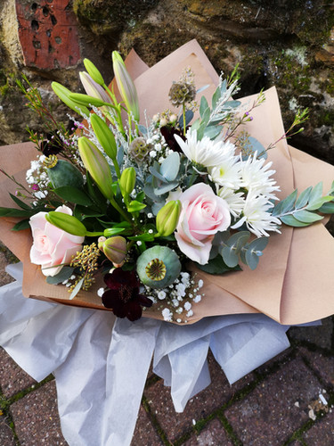 Handtied gift Bouquets (from £30)
