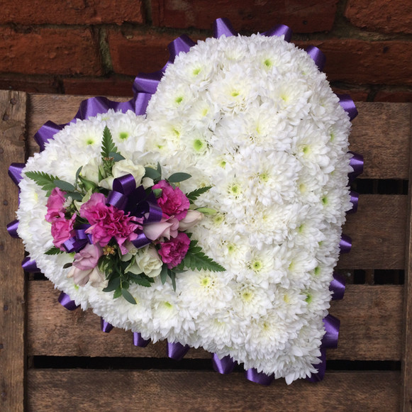 Traditional Heart (from £85)