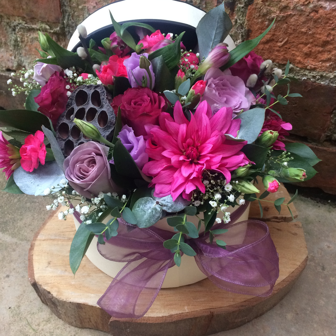 Luxury Hatbox (from £55)
